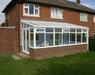 TLC upvc lean-to conservatory