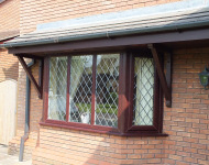 TLC upvc bay window