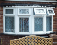 TLC upvc bow bay window