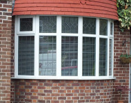TLC upvc semi circular window